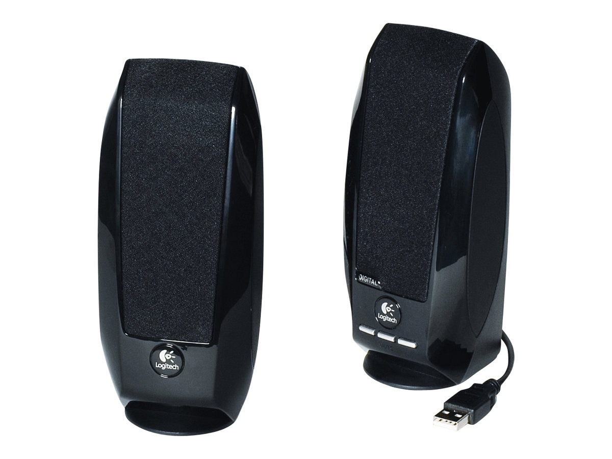 Logitech S150 Digital USB PC Multimedia Speakers, 980-000028, 8225933, Speakers - PC