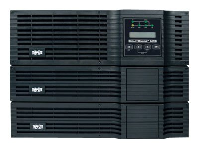Tripp Lite 5000VA UPS Smart Online Rack Tower PureSine 5kVA 200V-240V (16) Outlet, SU5000RT3U, 5619312, Battery Backup/UPS