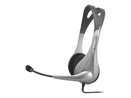 Cyber Acoustics Speech Recognition Stereo Headset and Boom Mic, AC-401, 5417403, Headsets (w/ microphone)