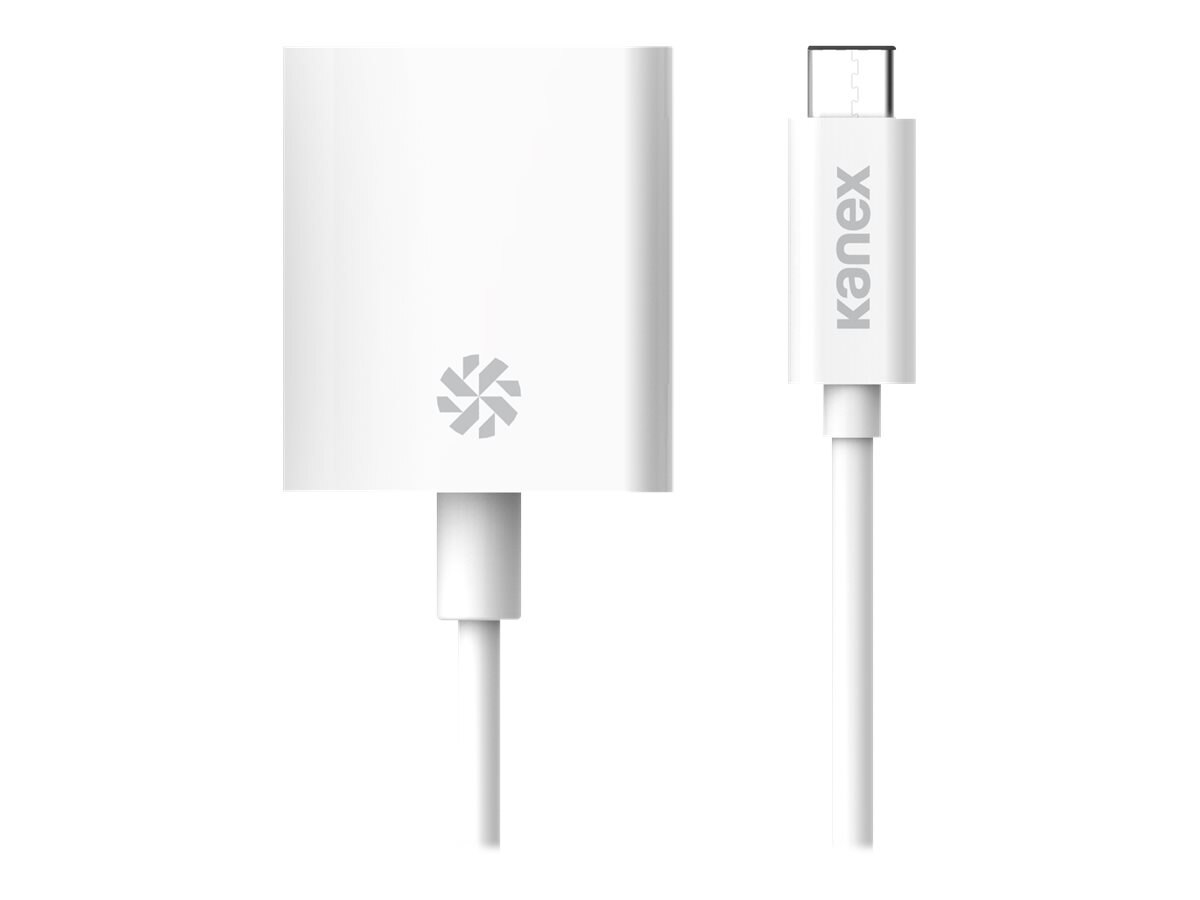 Kanex USB-C to DisplayPort M F 4K Adapter, White, K181-1016-WT8I
