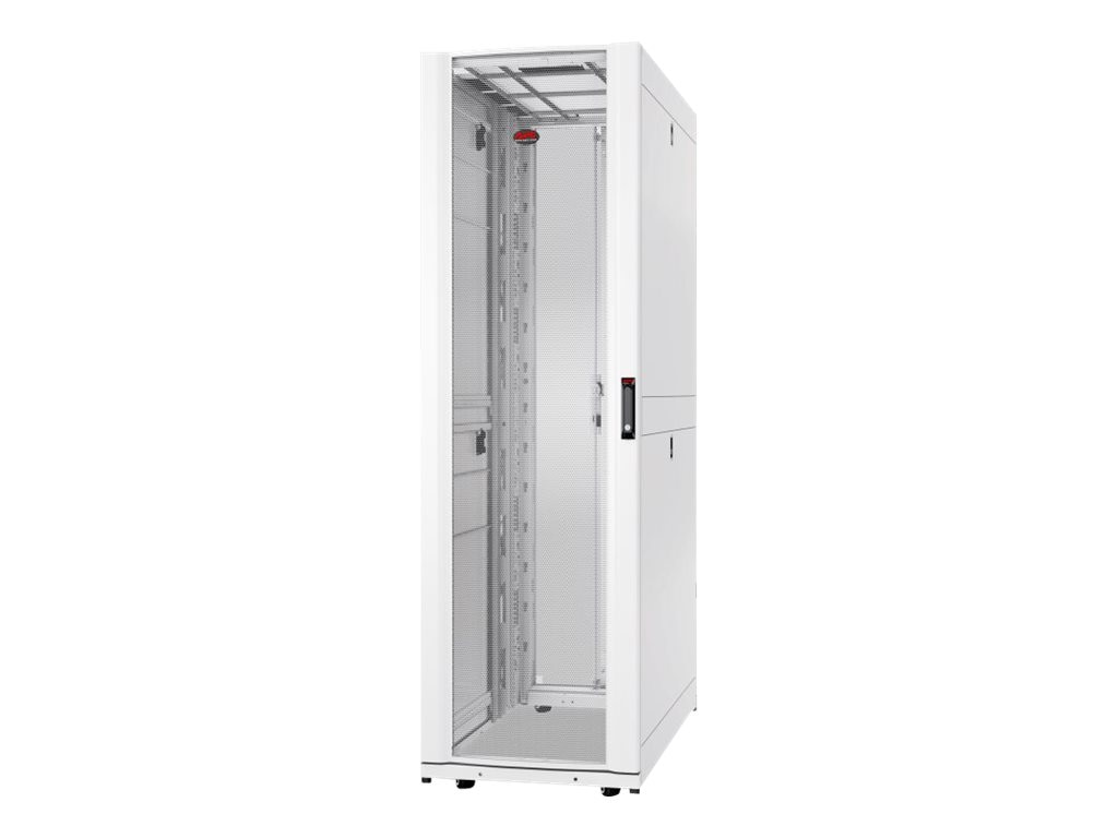 APC NetShelter SX 42U 750mm Wide x 1200mm Deep Enclosure, White, AR3350W, 27123297, Racks & Cabinets