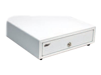 Star Micronics Cash Drawer 13w x 17d Printer Driven 3-Bill 5-Coin, White, for Canada, DK Ready