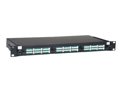 Tripp Lite 36-Port LC LC 1U Rackmount Fiber Enclosure Patch Panel, N492-036-LCLC-E, 17058807, Patch Panels