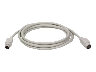 Tripp Lite PS 2 Keyboard Mouse Extension Cable, 10ft, P222-010, 196861, Cables