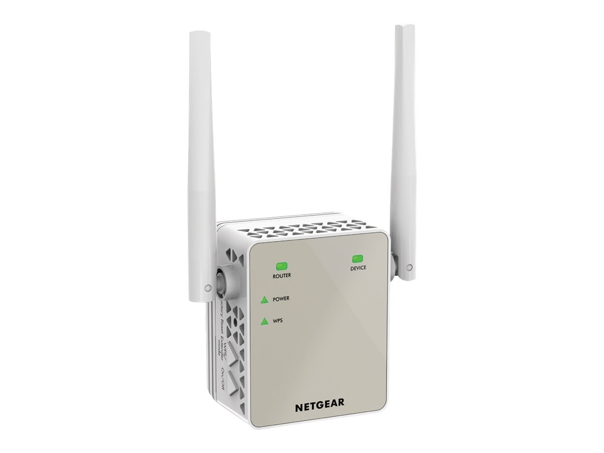 Netgear AC1200 WiFi Range Extender Essentials Edition, EX6120-100NAS, 30557504, Wireless Antennas & Extenders