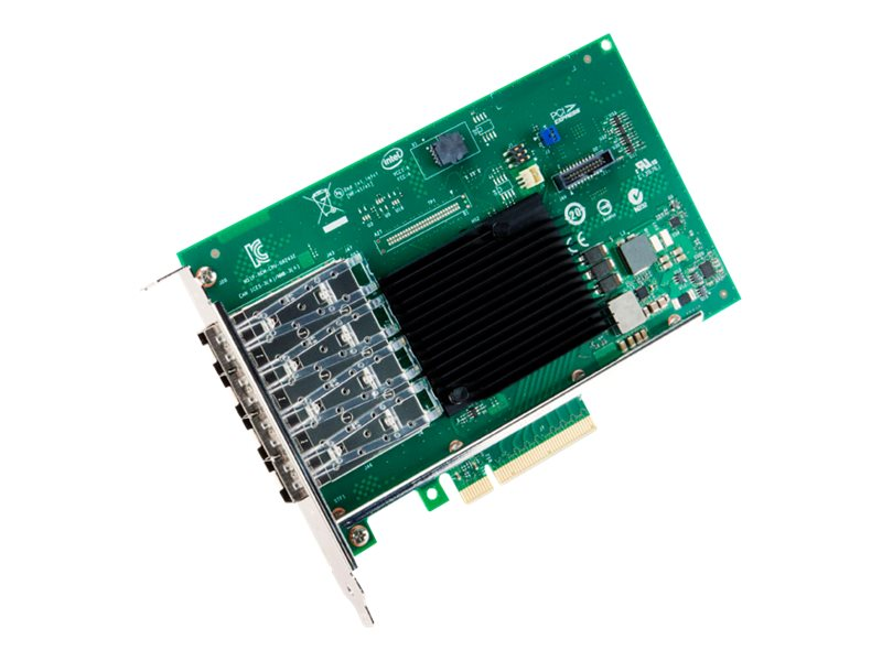 Intel Ethernet Converged Network Adapter, X710DA4FHBLK, 17758838, Network Adapters & NICs