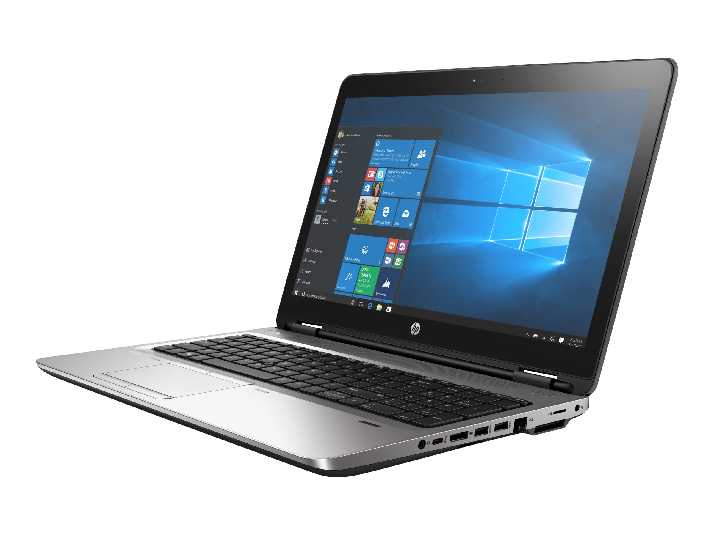 HP ProBook 655 G2 1.6GHz A8 Pro 15.6in display