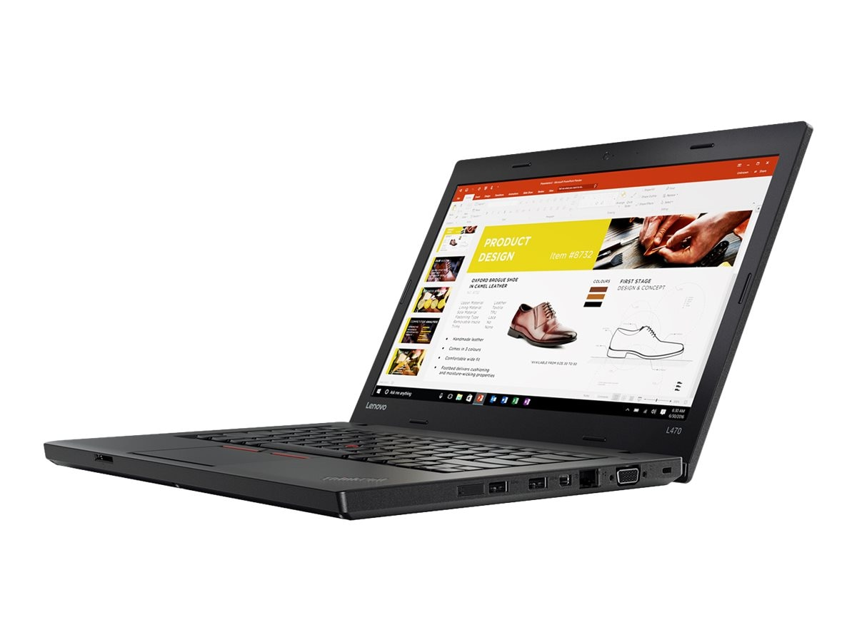 Lenovo TopSeller ThinkPad L470 Core i5-6200U 2.3GHz 8GB 180GB O2 ac BT WC 6C 14 HD W7P64-W10P