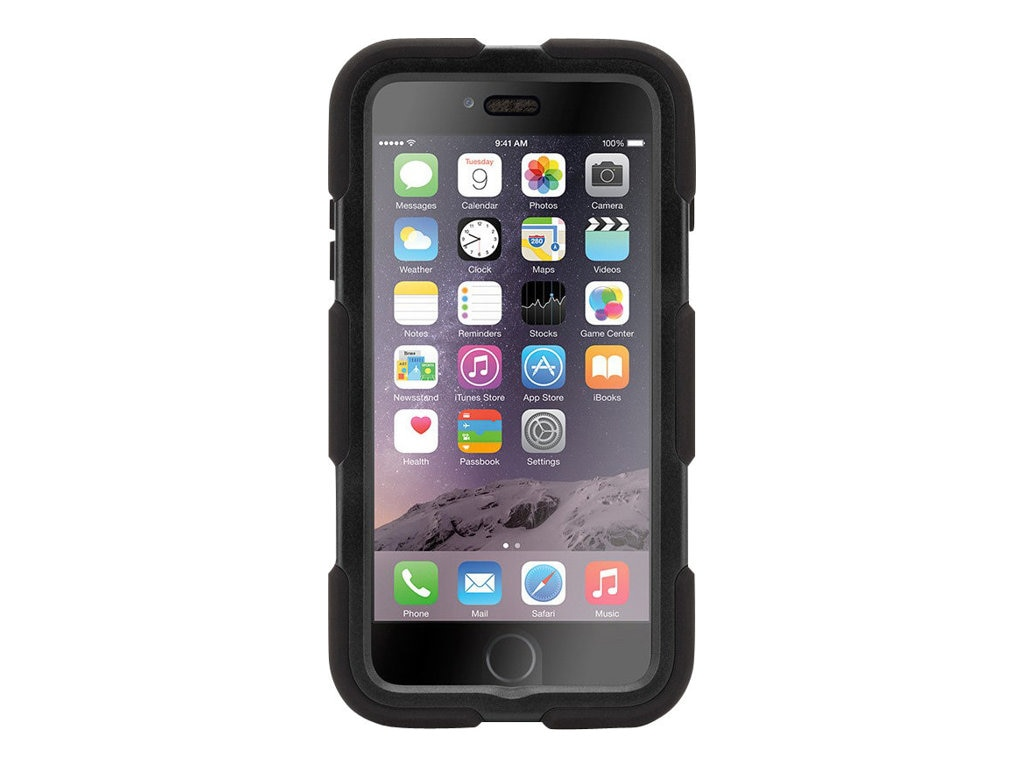 Griffin Survivor All-Terrain for iPhone 6 Plus, Black Black