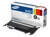 Samsung Black Toner Cartridge for CLP-325W & CLX-3185FW, CLT-K407S, 12370711, Toner and Imaging Components