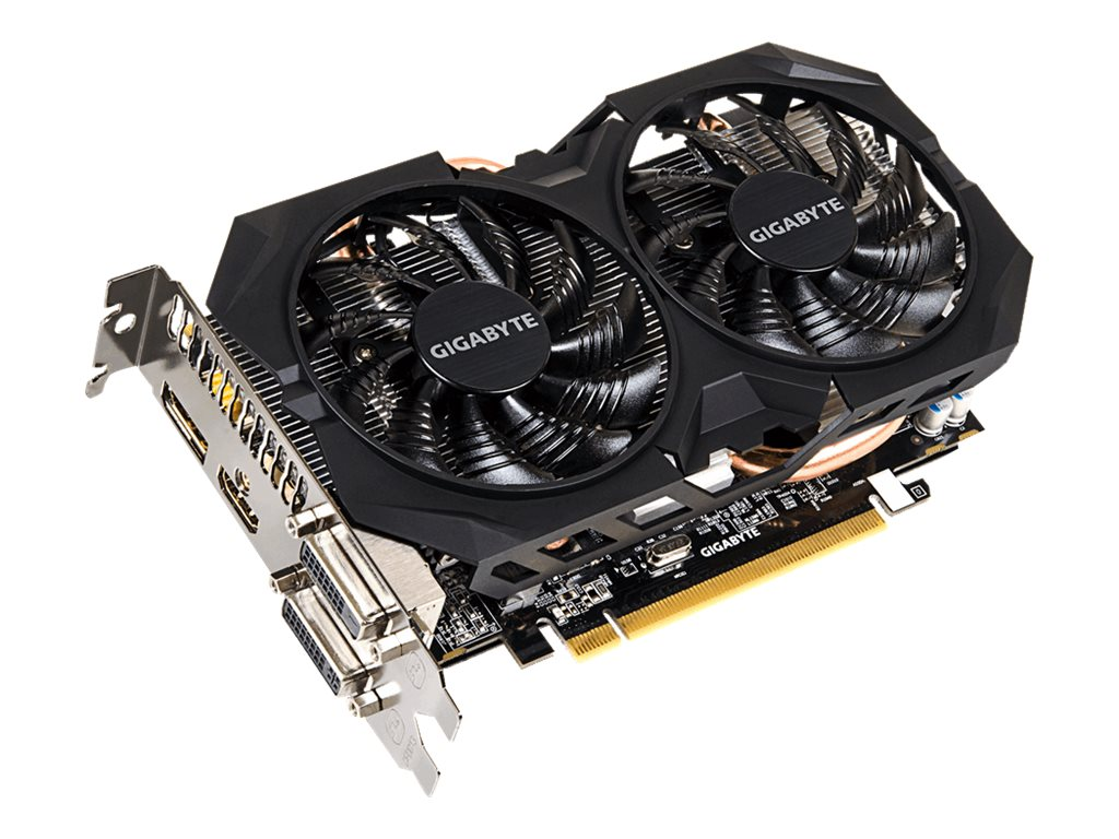 Gigabyte Tech Radeon R7 370 PCIe Graphics Card, 2GB GDDR5, GV-R737WF2OC-2GD