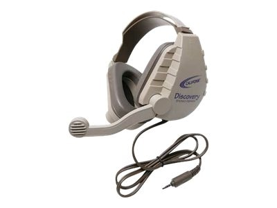 Califone Discovery Stereo Binaural Headset, DS8VT, 31472916, Headphones