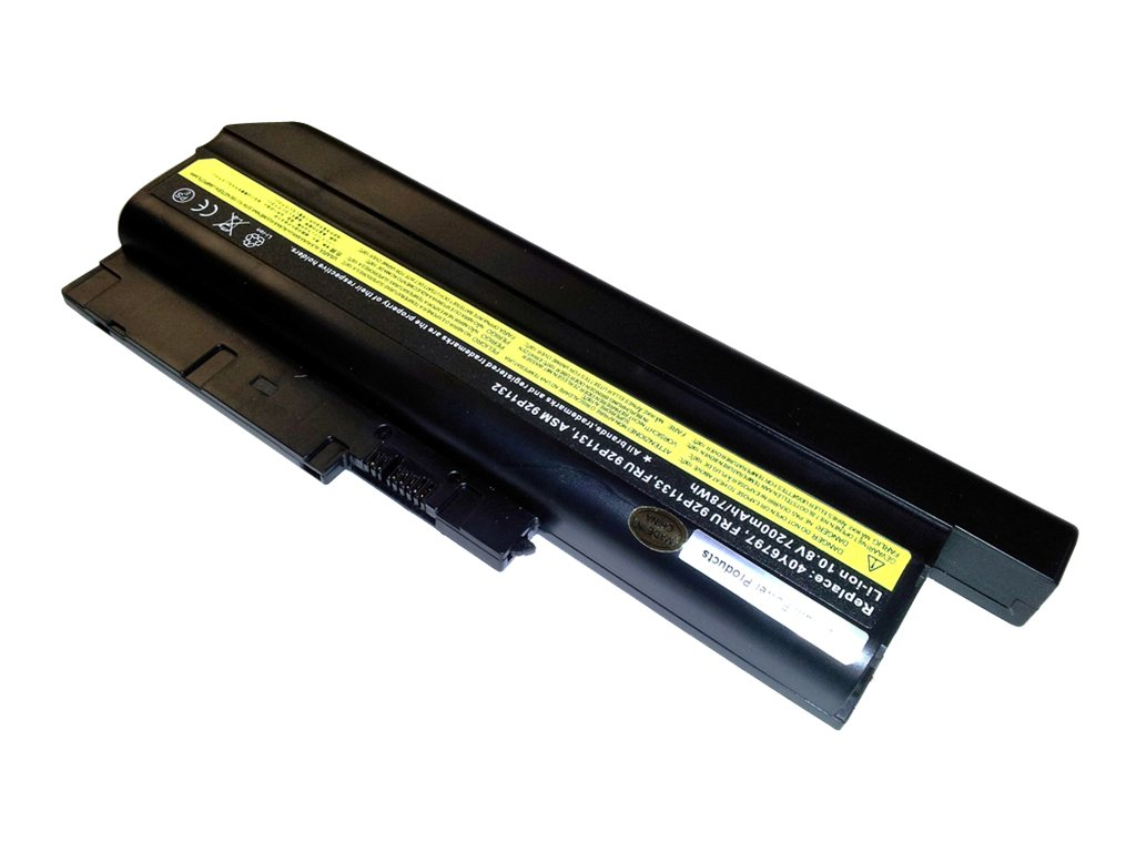 Ereplacements High Capacity Battery for Thinkpad Z60M T60 T61 (14.1 Std 15 Wide Scr Only) R60  R60E R61 R500 Z61, 40Y6797-ER, 7940038, Batteries - Notebook