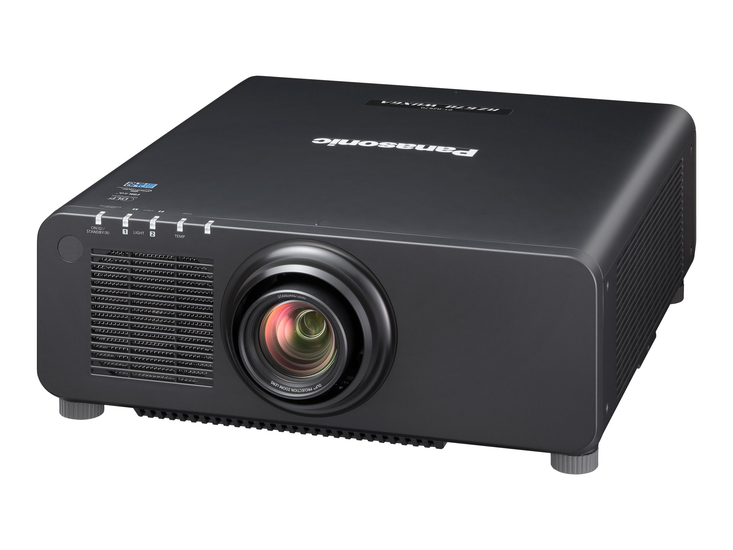 Panasonic PT-RZ67LBU Fixed Installation Projector - Black, PT-RZ670LBU