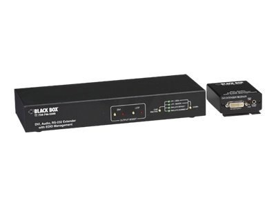 Black Box DVI-D EXTENDER WITH AUDIO AND EDID, AC2000A
