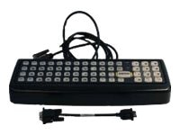 LXE 60-Key Rugged QWERTY Keyboard with Adapter Cable for VX8 9