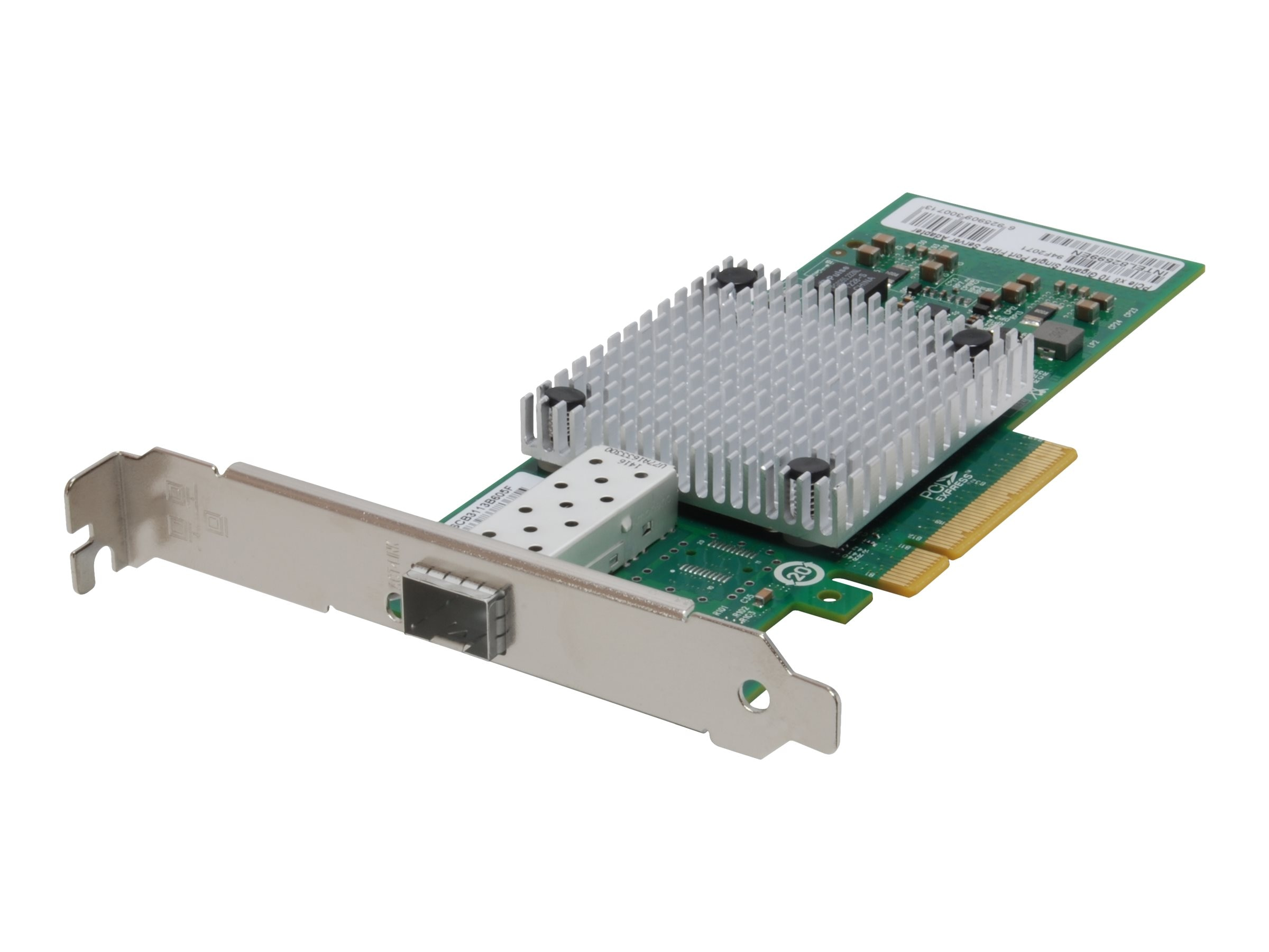 CP Technologies 10 Gigabit Fiber PCIe Network Card, PCIe 8X, 1 x SFP