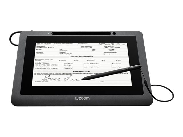 Wacom 10.1 Color LCD Panel 1024 x 600 USB Cordless Pen RSA AES Encryption, DTU-1031X, 31016144, POS/Kiosk Systems