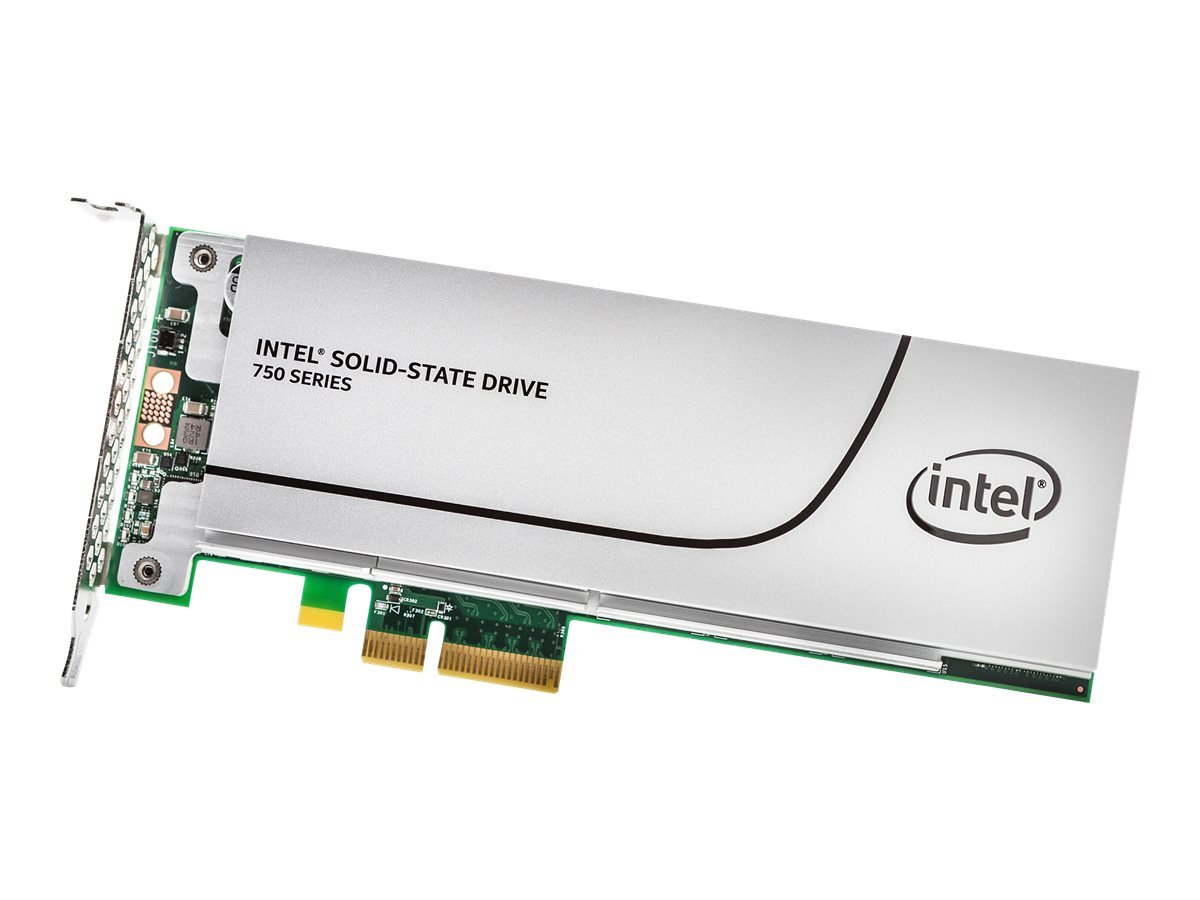 Intel 400GB 750 Series FH PCIe 3.0 20NM MLC Solid State Drive (Retail)