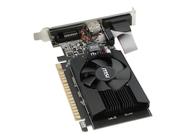 Microstar GeForce GT 710 PCIe 2.0 x16 Graphics Card, 2GB DDR3, GT 710 2GD3 LP, 32050627, Graphics/Video Accelerators