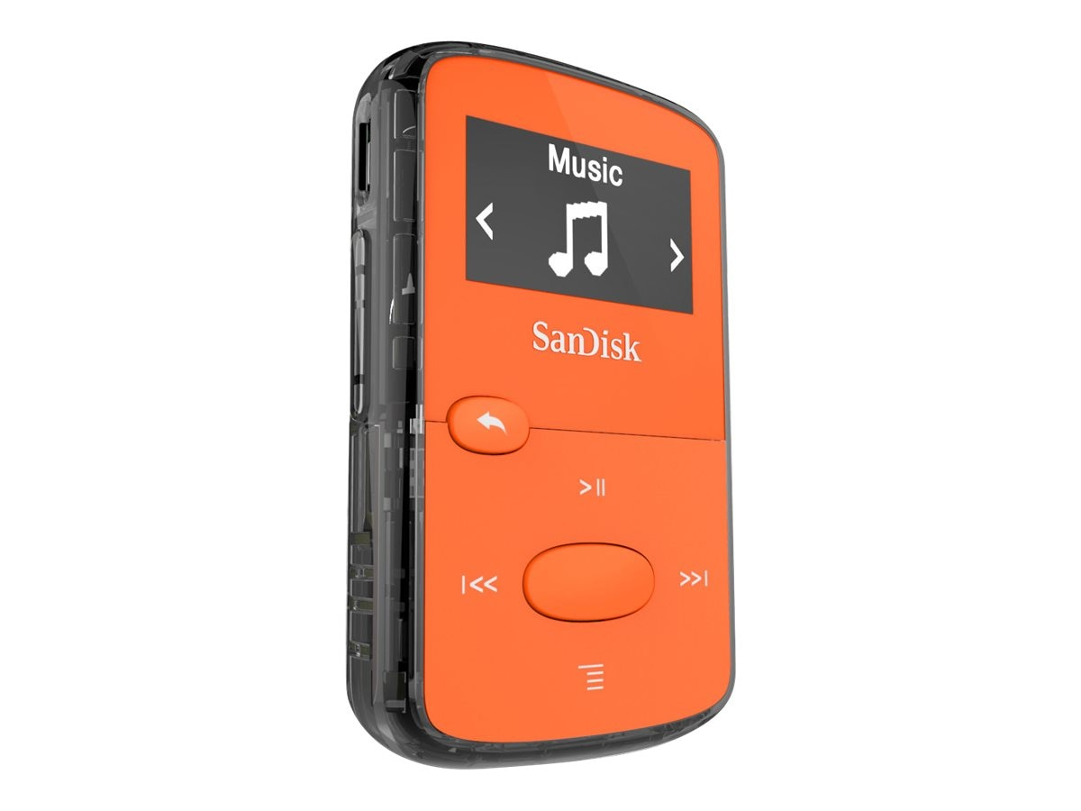 SanDisk Clip JAM Bright Orange, SDMX26-008G-G46O