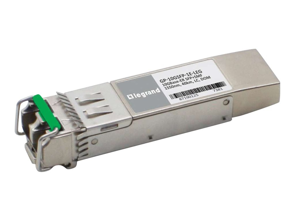C2G Dell Force 10 GP-10GSFP-1E Compatible 10GBase Transceiver