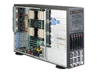 Supermicro SuperServer 8047R-TFT+ Xeon E5-4600 Max. 1TB DDR3 5x3.5 HS GNIC (4x)PCIEx16 1400W HE Redun. PS, SYS-8047R-TRF+, 14524075, Servers