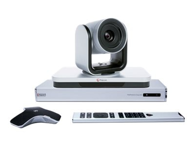 Polycom RealPresence Group 500-720p: HD Codec Eagle Eye III Camera Requires Maint Contract, 7200-63430-001, 15407188, Audio/Video Conference Hardware
