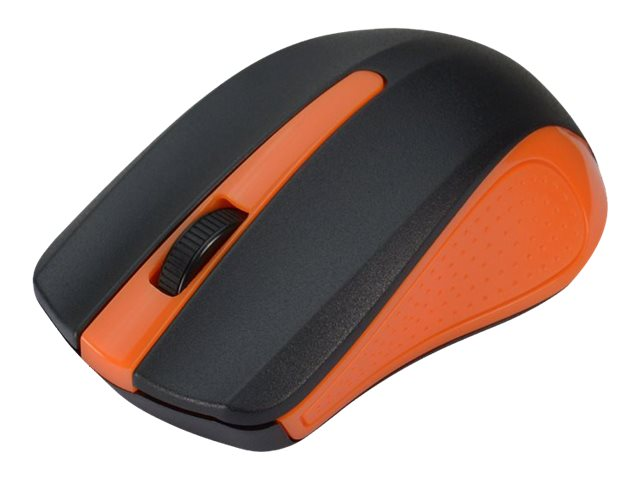 Siig Wireless 2.4GHz Optical Mouse w  Nano Receiver, Orange, JK-WR0F12-S1, 18184371, Mice & Cursor Control Devices
