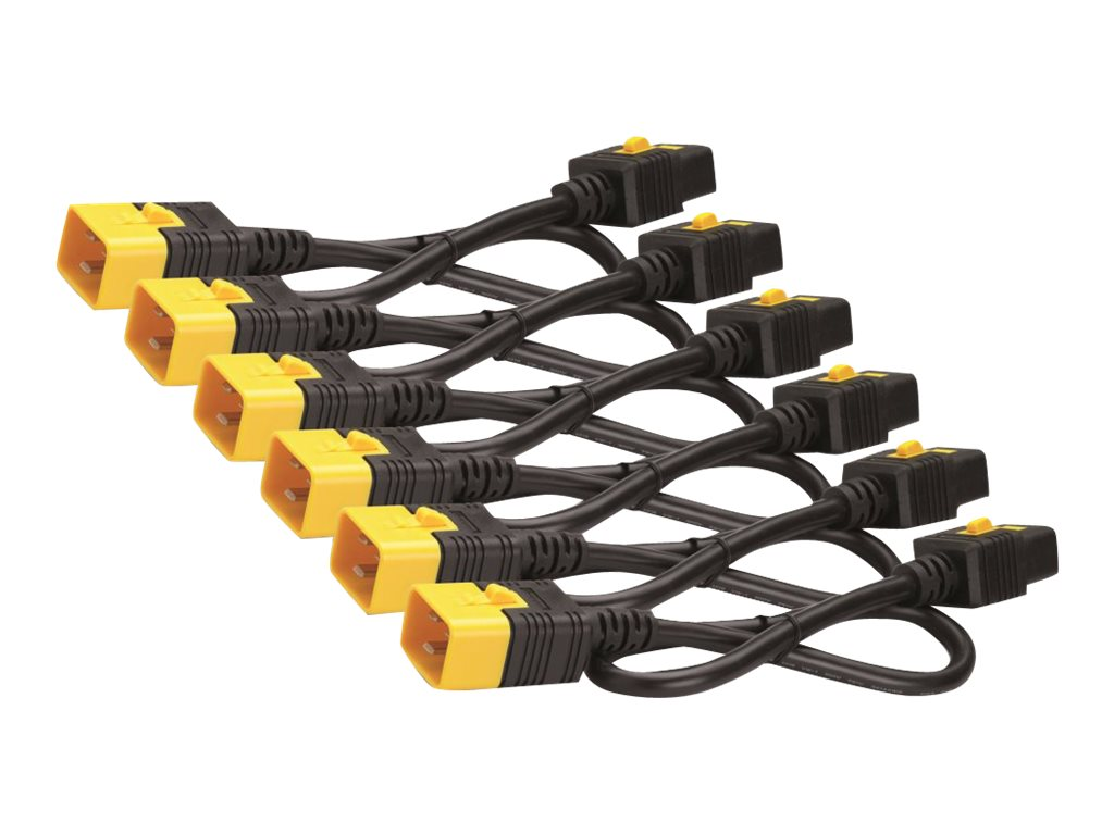 APC Kit of 6 1.8M Power Cord Locking C19 TO C20