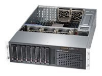 Supermicro Barebone, 3U, UP C602 GPU 512G DP, 10GBE 8x3.5