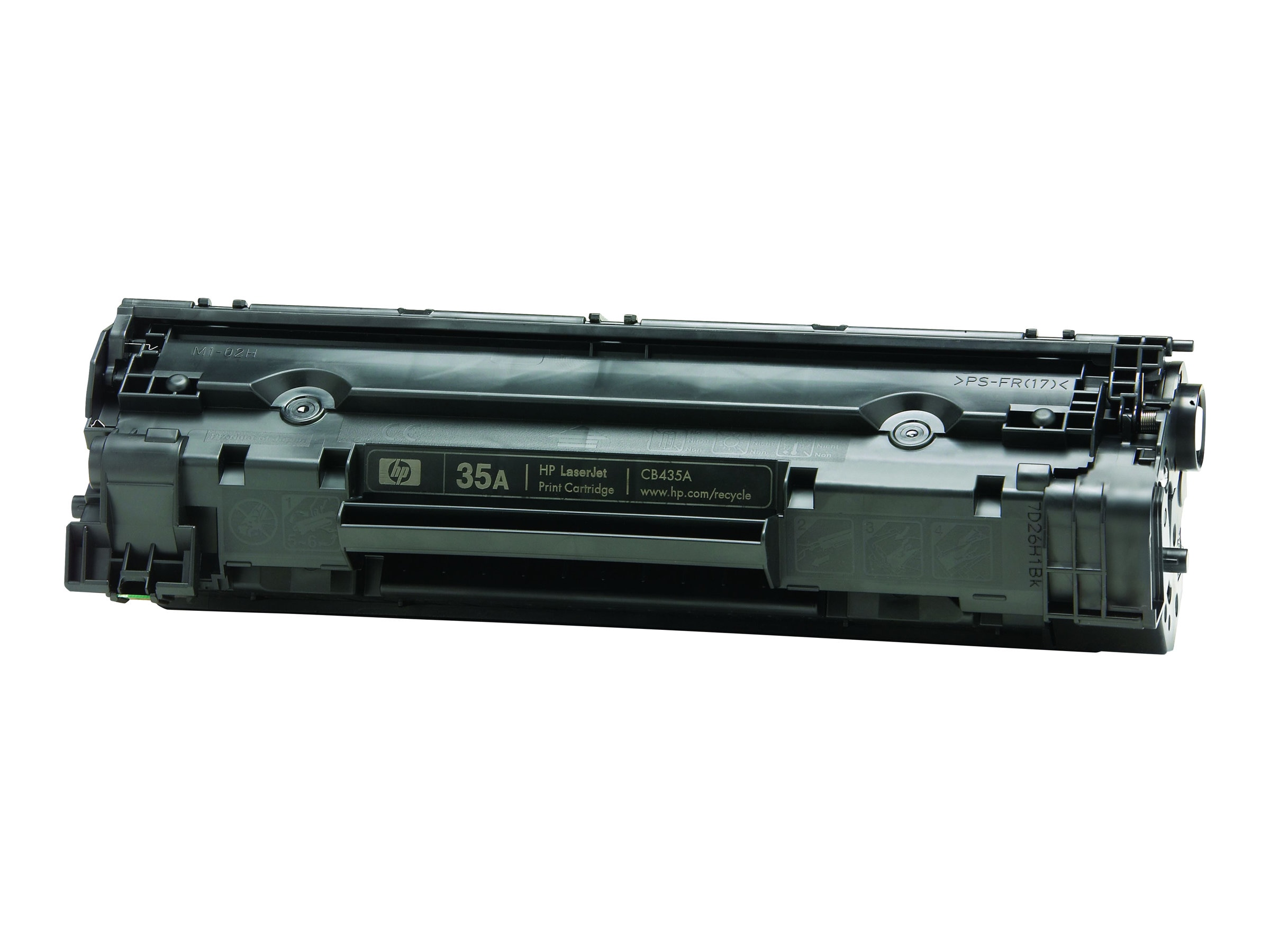HP 35A (CB435D) 2-pack Black Original LaserJet Toner Cartridges for HP LaserJet P1005 & P1006 Printers
