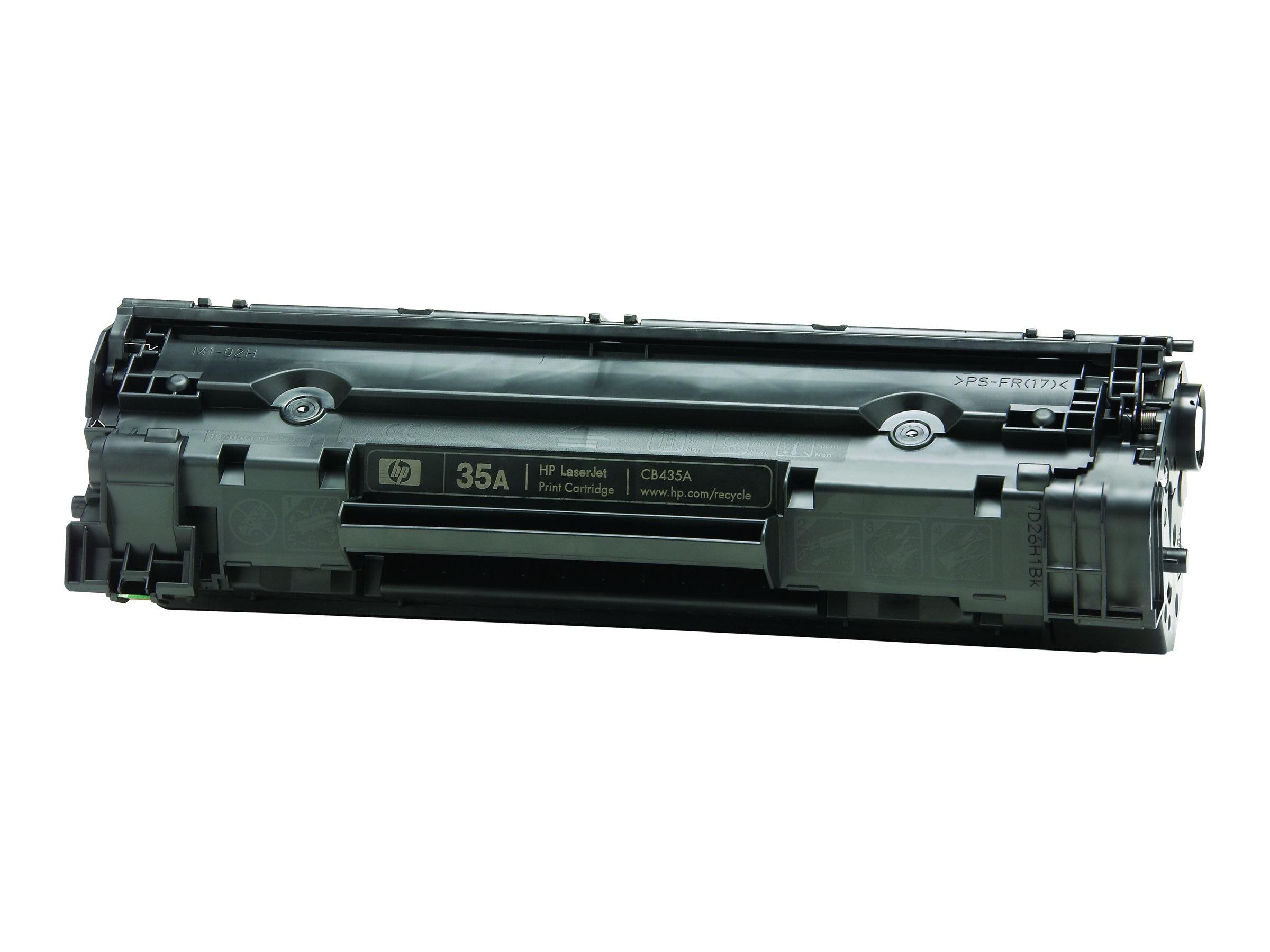 HP 35A (CB435A) Black Original LaserJet Toner Cartridge
