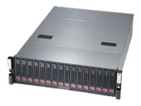 Supermicro SSG-6037B-CIB032 High-Capacity 3U Cluster-in-a-Box (2x) HP Nodes (4x)Xeon E5-2403 v2 1.8GHz 32GB, SSG-6037B-CIB032, 16961746, Servers - Blade