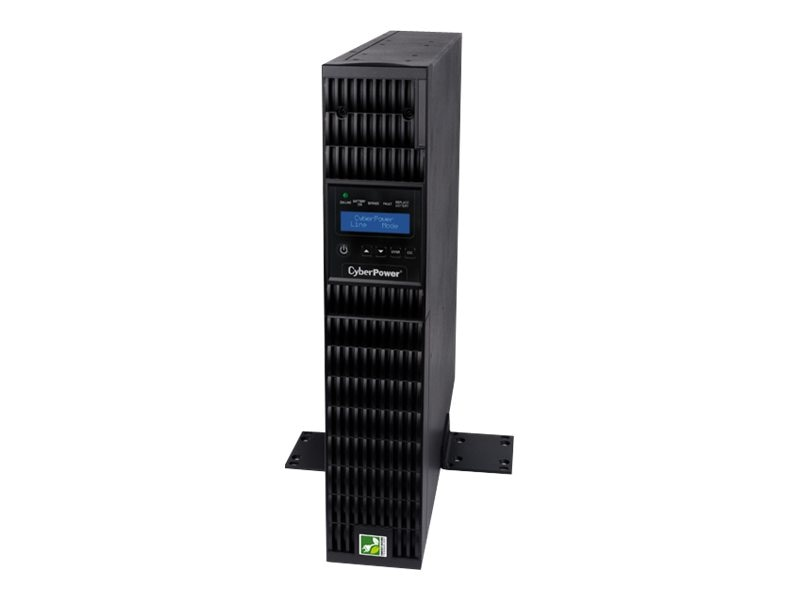 CyberPower Smart App 3kVA Online LCD 2U UPS, OL3000RTXL2U, 14709969, Battery Backup/UPS