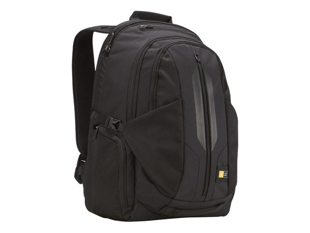 Case Logic 17.3 Laptop Backpack, Black, RBP-117BLACK, 12959930, Carrying Cases - Notebook
