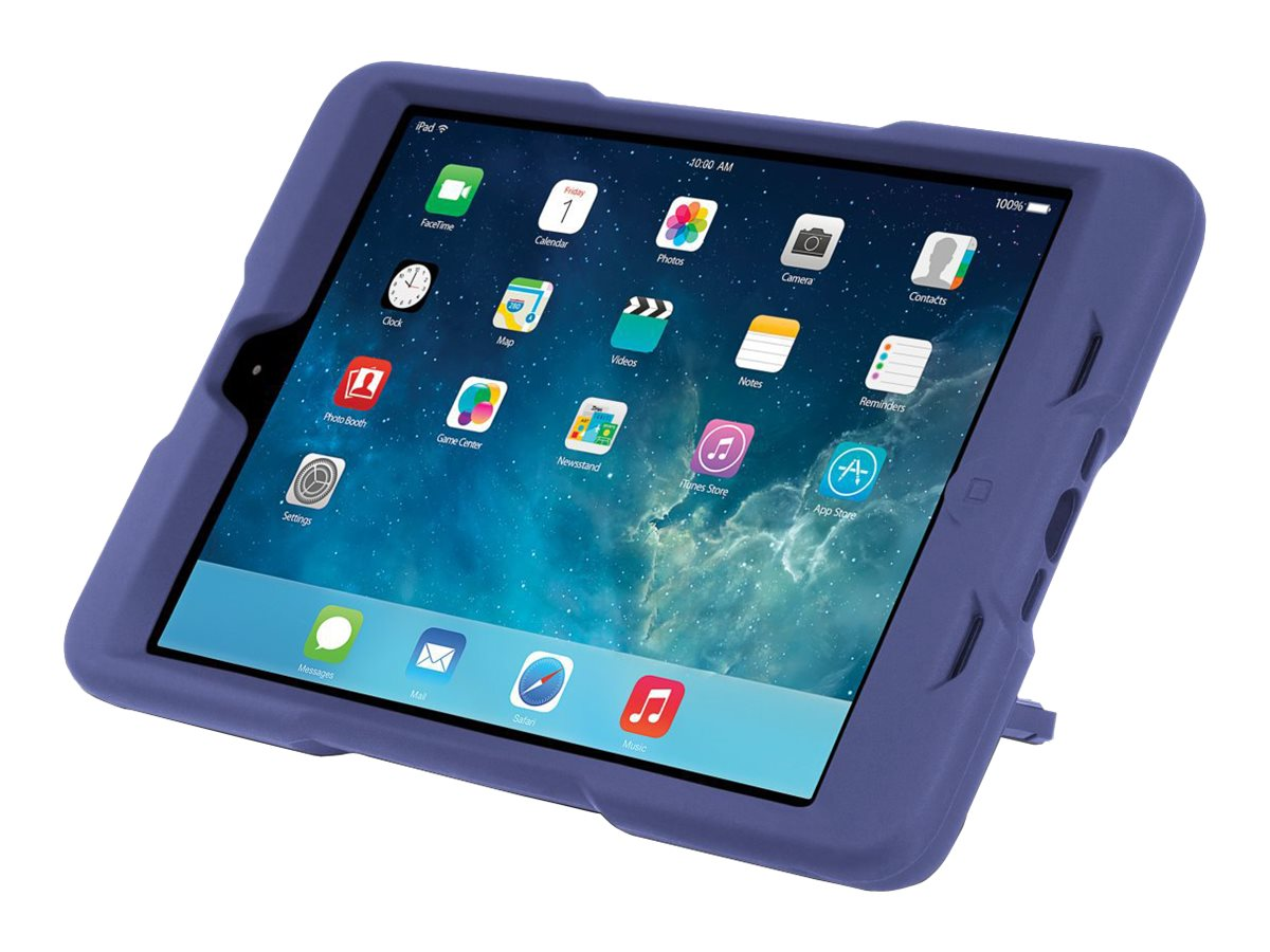 Kensington BlackBelt 2nd Degree Rugged Case for iPad mini, Plum