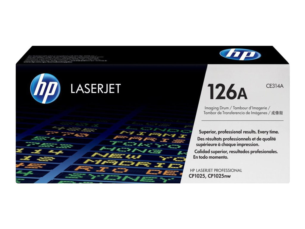 HP 126A LaserJet Imaging Drum for HP LaserJet CP1000 Series & HP LaserJet Pro 100 Series, CE314A, 12052713, Toner and Imaging Components