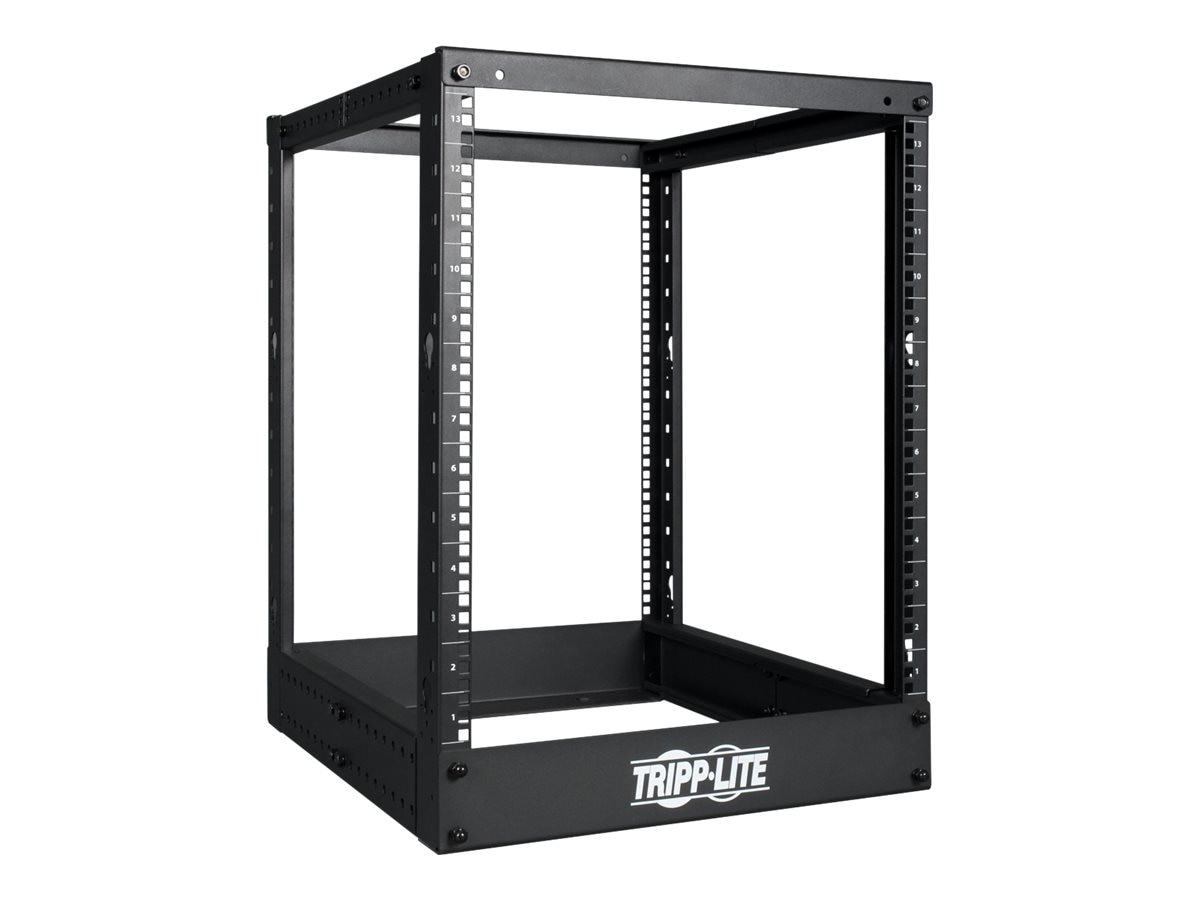 Tripp Lite 4-Post Open Frame Rack Server Cabinet 13U, SR4POST13