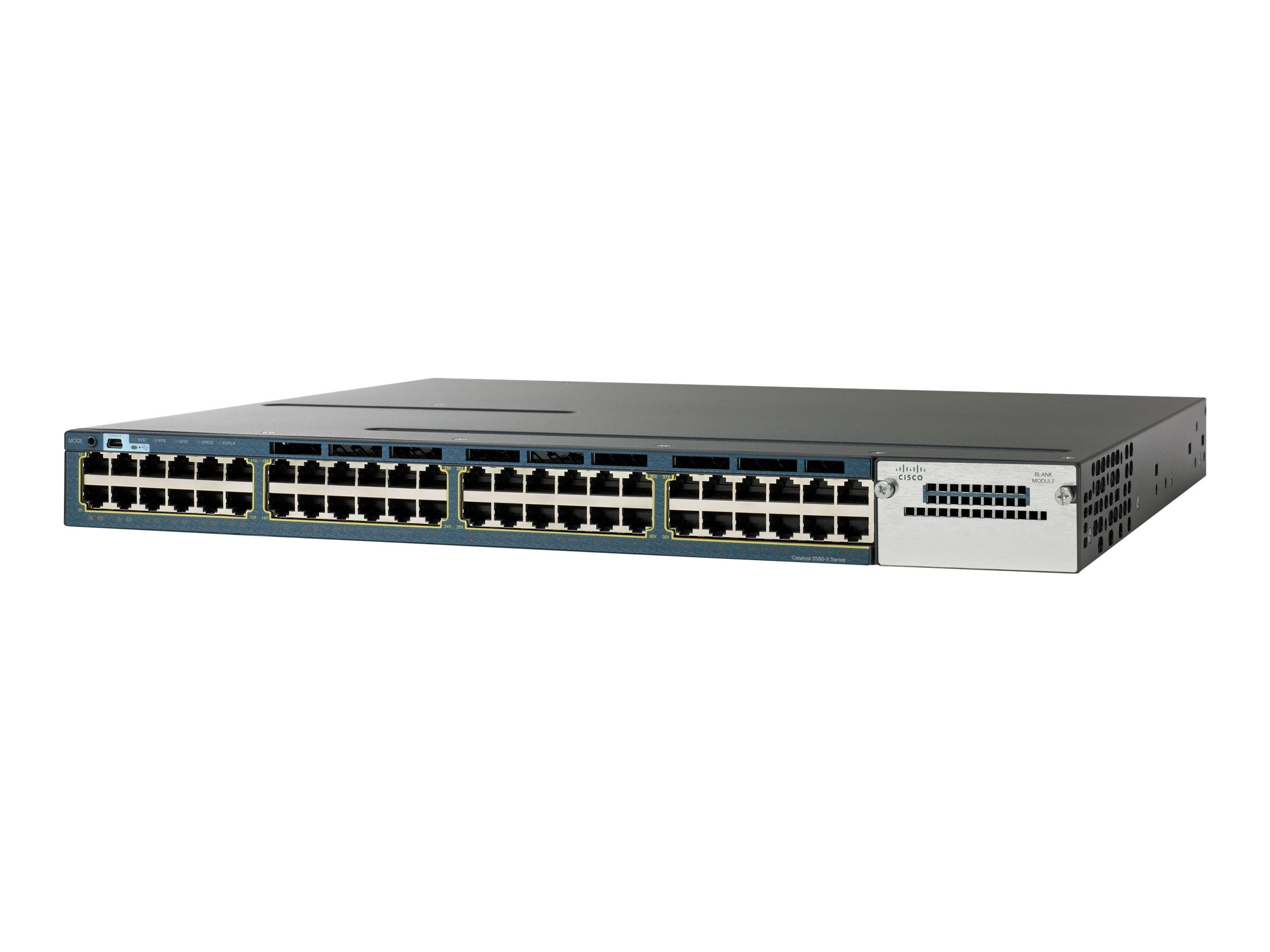 Cisco Catalyst 3560X 48-port Data PoE IP Base, WS-C3560X-48P-S, 11523886, Network Switches