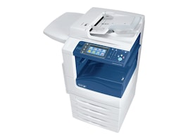 Xerox WC7225I MFP w  Stand, (2) 520 Sheet Trays & 50-Sheet Bypass Tray, 7225/PXF2I, 31854201, MultiFunction - Laser (color)