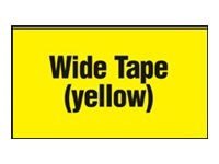 Brother 2.4 Continuous Yellow Film Tape for QL-500 & QL-550 Quick PC Label Printers, DK2606, 5219204, Paper, Labels & Other Print Media