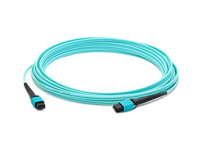 ACP-EP MPO-MPO F F OM4 Crossover 12-Fiber LOMM Patch Cable, 25m, ADD-MPOMPO-25M5OM4
