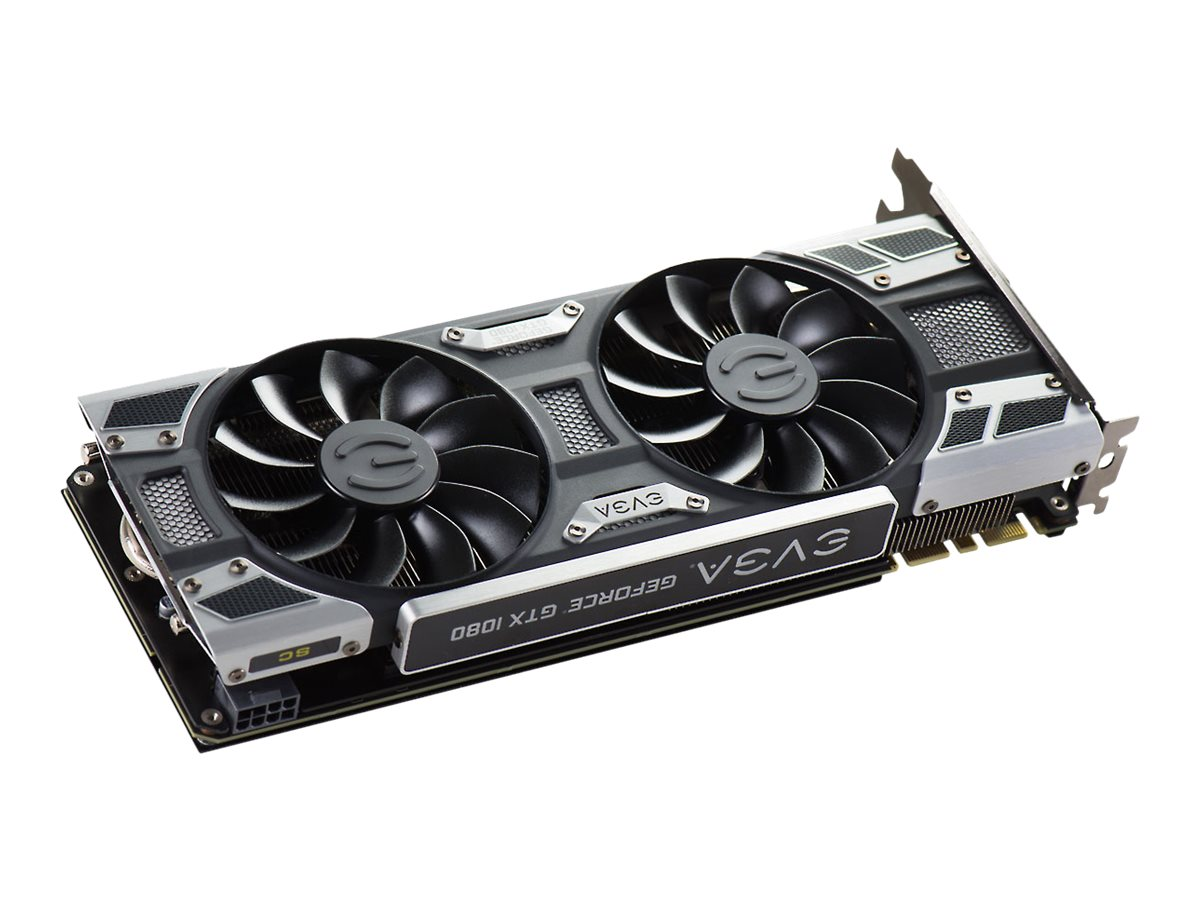 eVGA GeForce GTX 1080 SC GAMING ACX 3.0 PCIe 3.0 x16 Graphics Card, 8GB GDDR5X, 08G-P4-6183-KR
