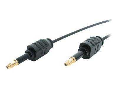 StarTech.com Digital Audio Cable, Thin Miniplug, 10ft, THINMIN10, 4919313, Cables