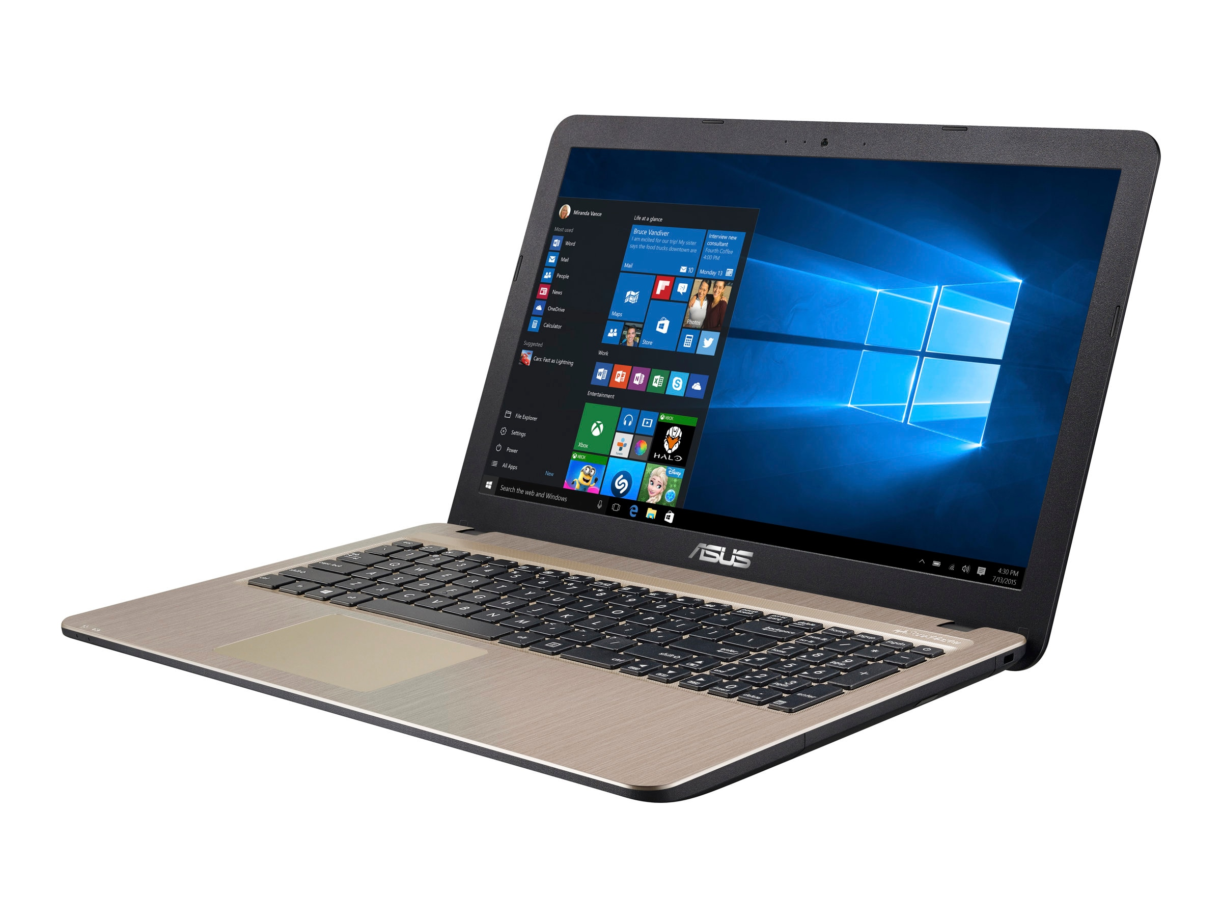 Asus R540SA-RS01 Notebook PC Celeron N3050 1.6GHz 15.6 HD