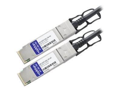 ACP-EP 40GBASE-CU QSFP+ Direct Attach Passive Twinax Cable, 1m