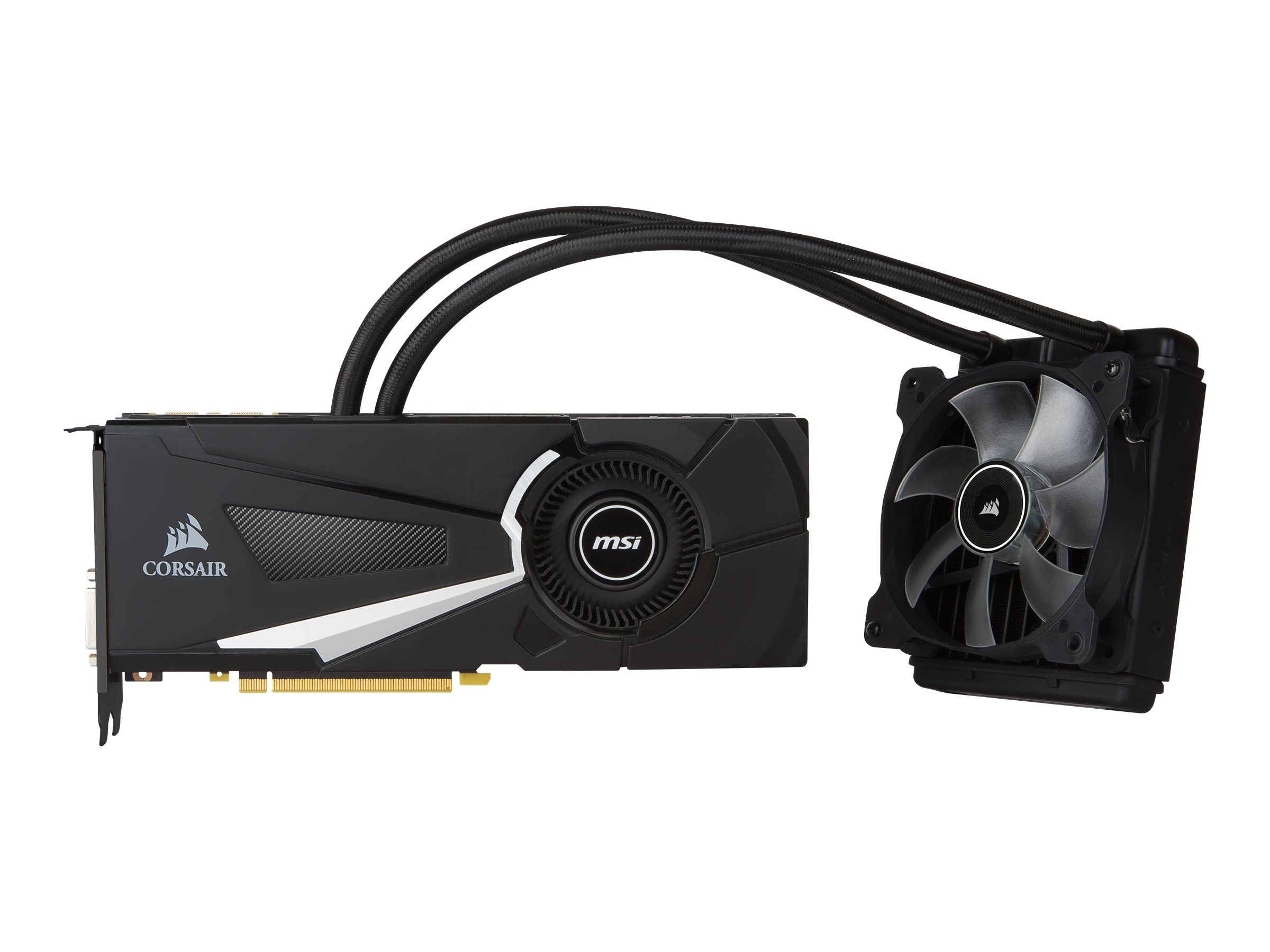 Microstar GeForce GTX 1080 Sea Hawk X Graphics Card, 8GB GDDR5X, GTX 1080 SEA HAWK X