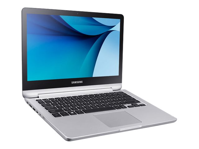 Samsung Notebook 7 Spin Core i5-6200U 2.3GHz 8GB 500GB ac BT 3C 13.3 FHD MT W10P, NP740U3L-L03US
