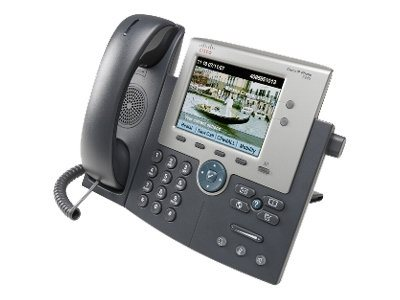 Cisco Unified IP Phone 7945G SCCP, SIP VoIP, CP-7945G=, 8165441, VoIP Phones